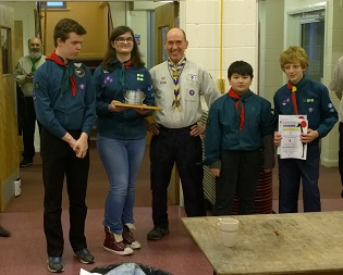 99th Scouts Triumph Again in Cooking Competition