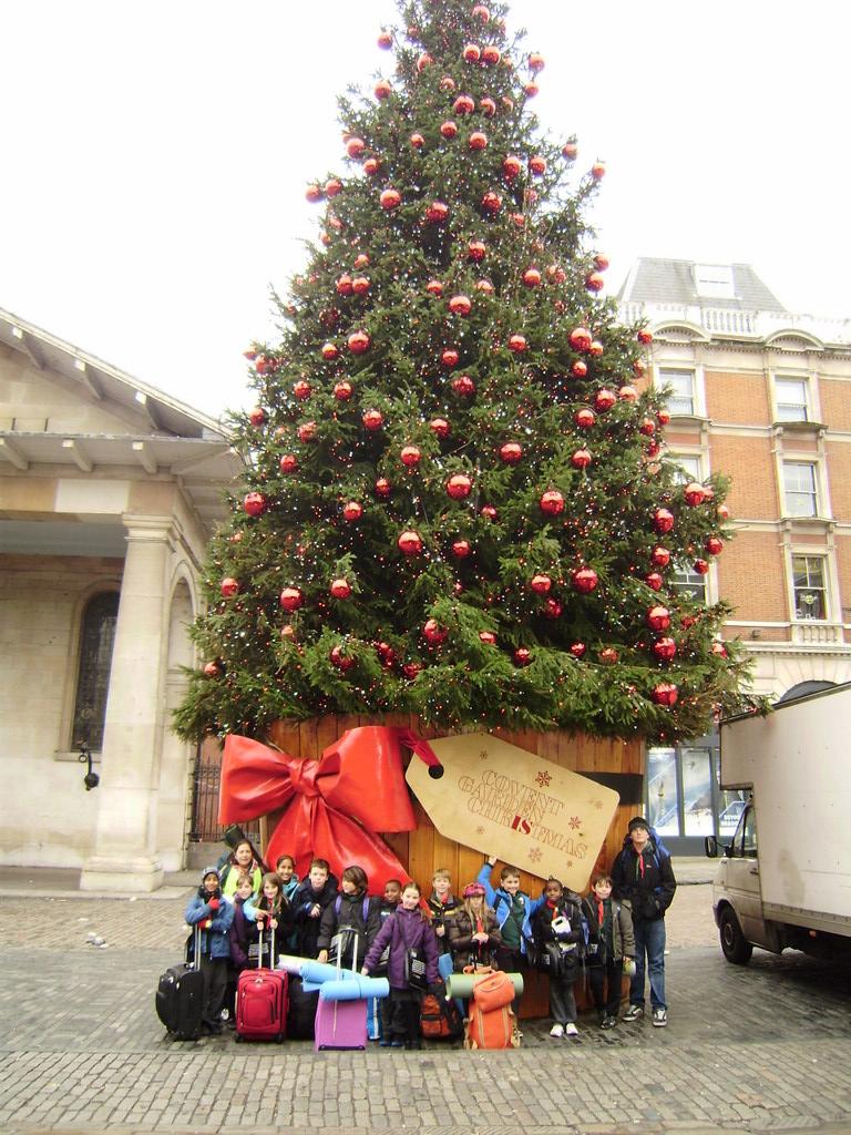 Covent Garden Xmas Tree 2016 Garden Ftempo