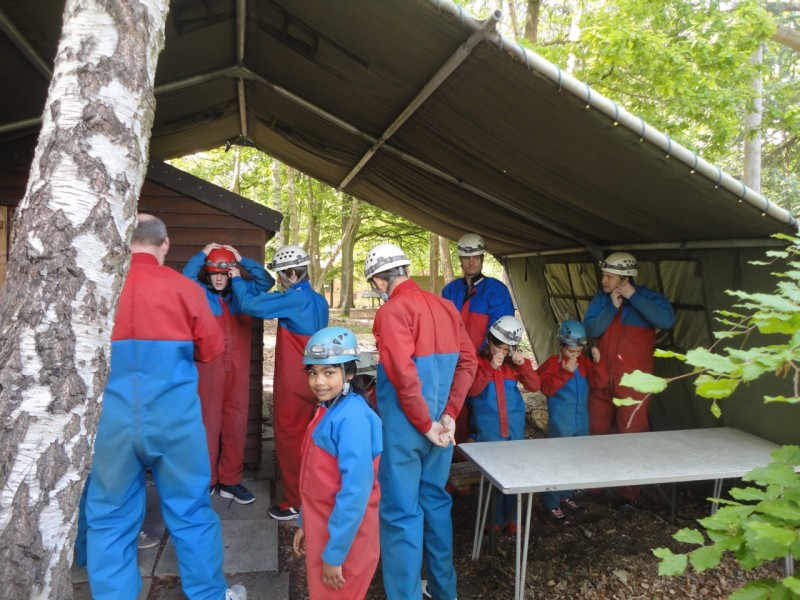 Preparation for caving