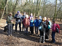 The Three Towers 2015:  First practice hike in the Chilterns
